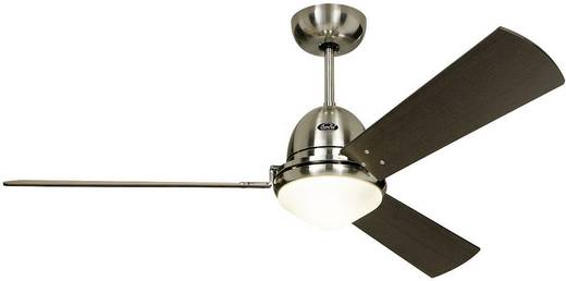 Plafondventilator (Ø) 142 cm met afstandsbediening, met lamparmatuur, met wintermodus CasaFan Plafondventilator Libeccio bruin
