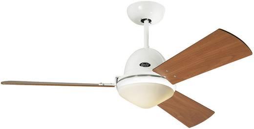 Plafondventilator (Ø) 142 cm met afstandsbediening, met lamparmatuur, met wintermodus CasaFan Plafondventilator Libeccio wit