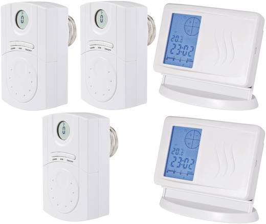 Draadloze radiatorthermostaat set Elektronisch 7 tot 35 °C