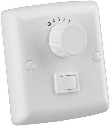 78801 Wandschakelaar voor plafondventilator Wit