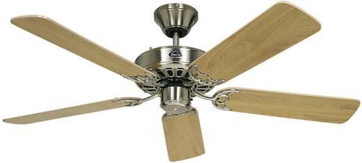 Plafondventilator CasaFan Classic Royal 132 BN (Ø) 132 cm lampaanbouw mogelijk, omkeerbare bladen, verwisselbare bladen,