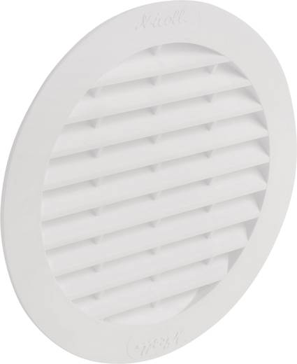 Rond ventilatierooster BC110 Wallair N32909 Wit