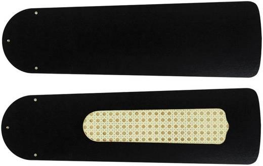 CasaFan Plafondventilator-Bladenset 132 ZWART GELAKT Vleugelset voor plafondventilator Vleugeldecor: Zwart