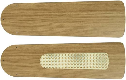 CasaFan Plafondventilator-Bladenset 132 LICHT EIKEN Vleugelset voor plafondventilator Vleugeldecor: Eiken (licht)