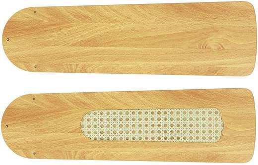 Vleugelset voor plafondventilator CasaFan Deckenventilator-Flügelsatz 132 BUCHE Vleugeldecor: Beuken
