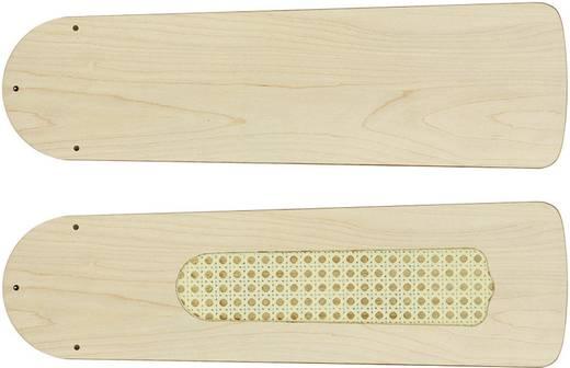 CasaFan Plafondventilator-Bladenset 132 ruw berken Vleugelset voor plafondventilator Vleugeldecor: Berk (raw)