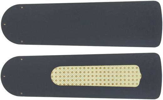 CasaFan Deckenventilator-Flügelsatz 132 GRAPHIT Vleugelset voor plafondventilator Vleugeldecor: Grafiet