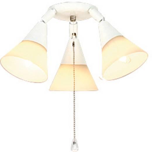 Lamp voor plafondventilator CasaFan 16 WE 3-STRAHLER Opaalglas