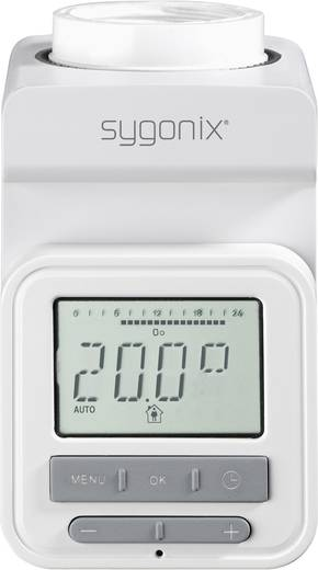 Sygonix hx.1 Radiatorthermostaat Elektronisch 8 tot 28 °C