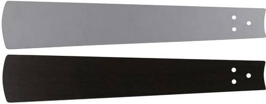 CasaFan Bladen wengé/zilvergrijze lak 132 Vleugelset voor plafondventilator Vleugeldecor: Wenge, Grijs