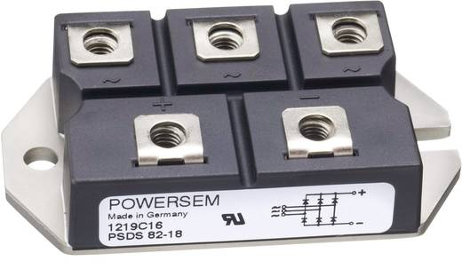 3-fase gelijkrichter POWERSEM PSDS 82-08 Soort behuizing Fig. 23 Nominale stroom (details) 88 A U(RRM) 800 V