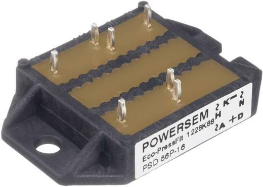 3-fase gelijkrichter POWERSEM PSD 86P9-14 Soort behuizing Fig. 24 Nominale stroom 86 A U(RRM) 1400 V