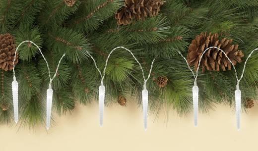 Lichtgordijn ijspegels Koud-wit Buiten 1,2 V 10 LED