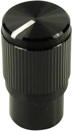 Cliff FC7259 Draaiknop Zwart (Ø x h) 10.7 mm x 19 mm 1 stuks