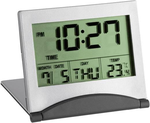 Wekker Quarz Zilver TFA 98.1054