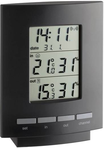 Draadloze thermo- en hygrometer TFA 30.3013