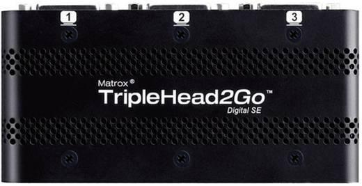 Matrox TripleHead2GO T2G-DP3D-IF Externe videokaart Aantal ondersteunende monitors: 3