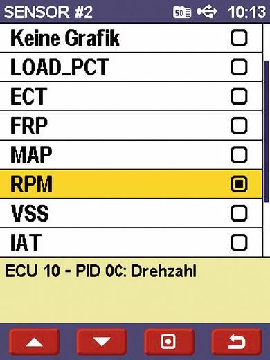 Diamex OBD II Handheld Analyser met PC-aansluiting Scan Devil II