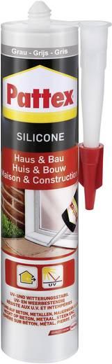 Pattex Silicone voor huis en bouw PFHBG Kleur Grijs 300 ml