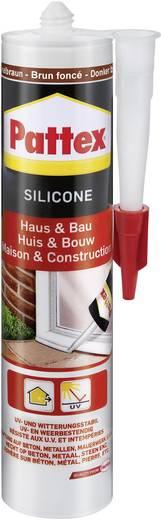 Pattex Silicone voor huis en bouw PFHBB Kleur Donkerbruin 300 ml