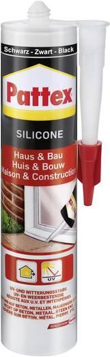 Pattex Silicone voor huis en bouw PFHBS Kleur Zwart 300 ml