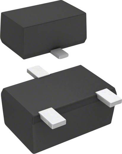 Panasonic DB3J208K0L Skottky diode gelijkrichter SMini3-F2-B 20 V Enkelvoudig