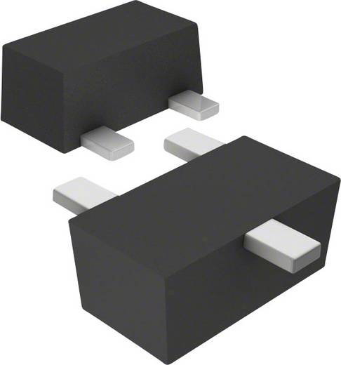Skottky diode array gelijkrichter 100 mA Panasonic DB3S406F0L SC-89 Array - 1 paar in seriële verbinding