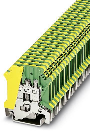 Phoenix Contact USLKG 4 Randaarde-serieklem USLKG 4 Groen-geel Inhoud: 50 stuks