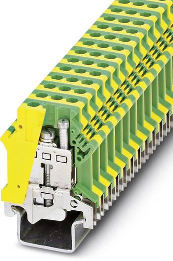 Phoenix Contact USLKG16-1 Randaarde-serieklem USLKG 16-1 Groen-geel Inhoud: 50 stuks