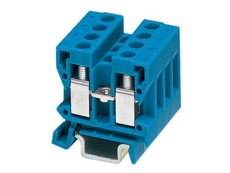 Phoenix Contact MBK 2,5/E BU 1414019 Doorgangsserieklem Aantal polen: 2 0.2 mm² 2.5 mm² Blauw 50 stuks