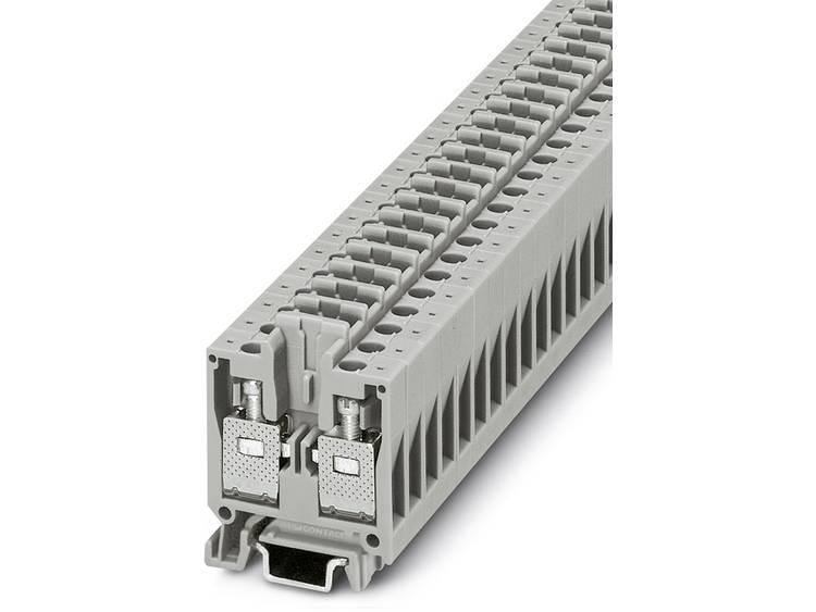 Phoenix Contact MBK 5/E-TG 1415089 Doorgangsserieklem Aantal polen: 2 0.2 mm² 4 mm² Grijs 50 stuks