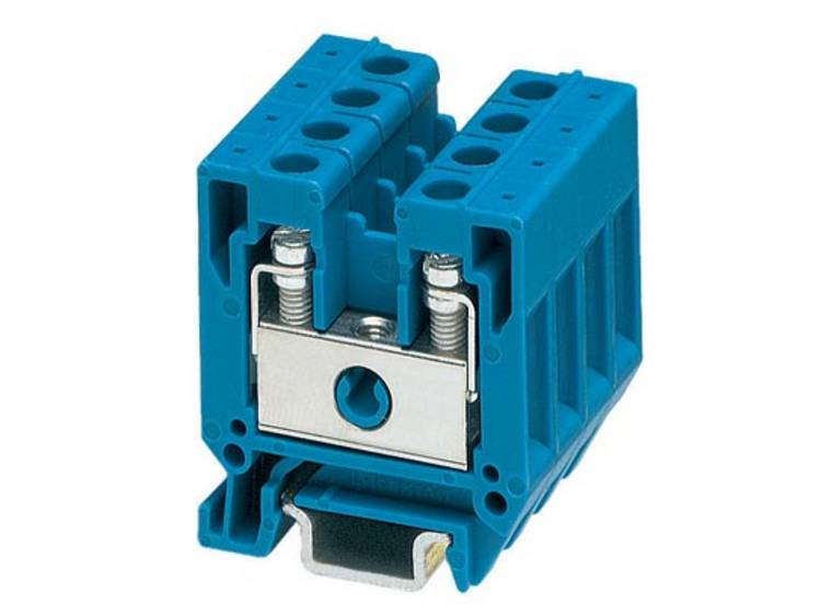 Phoenix Contact MBK 5/E BU 1415115 Doorgangsserieklem Aantal polen: 2 0.2 mm² 4 mm² Blauw 50 stuks