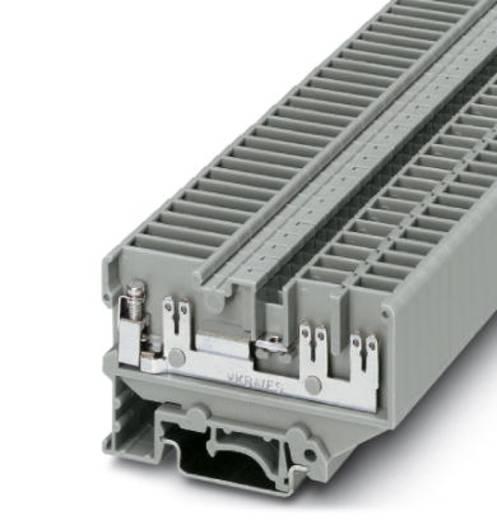 Phoenix Contact UVKB 4-FS(4-2,8)TP(2,4X0,8)4L Doorgangsserieklem UVKB 4-FS(4-2,8)TP(2,4X0,8)4L Grijs Inhoud: 50 stuks