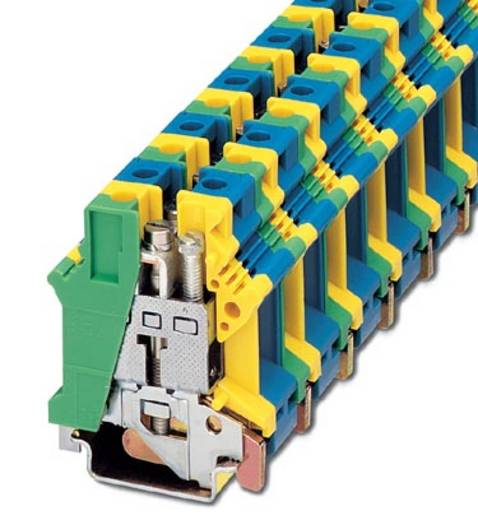 Phoenix Contact UK 16 N-PE/N Aardklem UK 16 N-PE/N Groen-geel-blauw Inhoud: 10 stuks