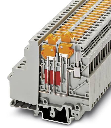 Phoenix Contact UDMTK 5-TWIN-P/P Doorgangsserieklem UDMTK 5-TWIN-P/P Grijs Inhoud: 50 stuks