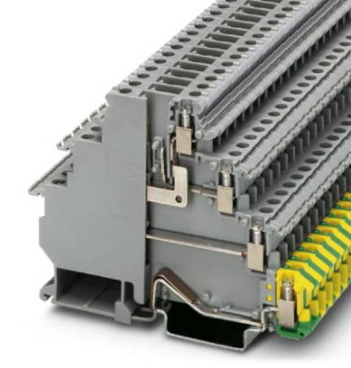 Phoenix Contact VIOK 1,5-D/TG/D/PE Initiator-/actuatorklem VIOK 1,5-D/TG/D/PE Grijs Inhoud: 50 stuks