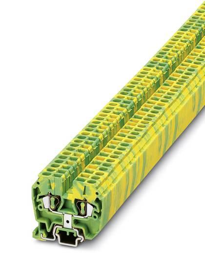 Doorgangsserieklem MZFK 1,5-PE Groen-geel Phoenix Contact<