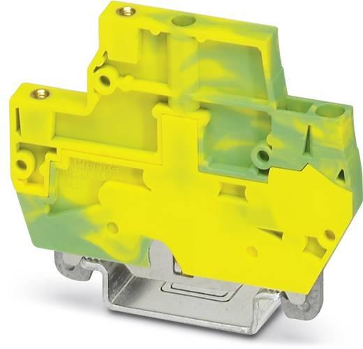 Phoenix Contact ZFKK 1,5-MSTBV-5,08-PE/F Doorgangsserieklem ZFKK 1,5-MSTBV-5,08-PE/F Groen-geel Inhoud: 50 stuks