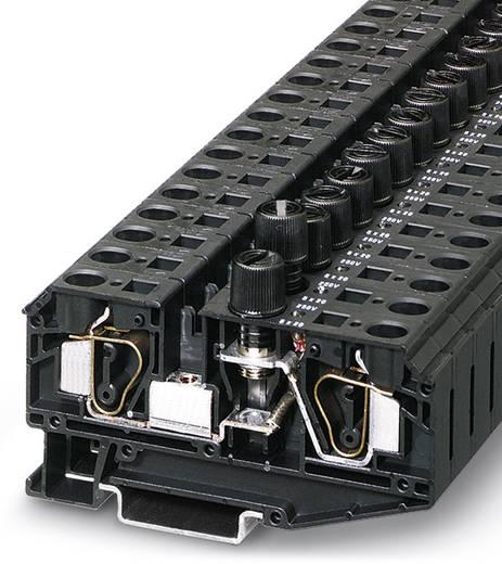 Zekeringsserieklem ZFK 6-DREHSILA 250 (5X20) Zwart Phoenix