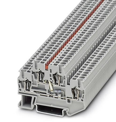 Componentenserieklem STTB 2,5-LA 24 RD Grijs Phoenix Contact 50 stuks