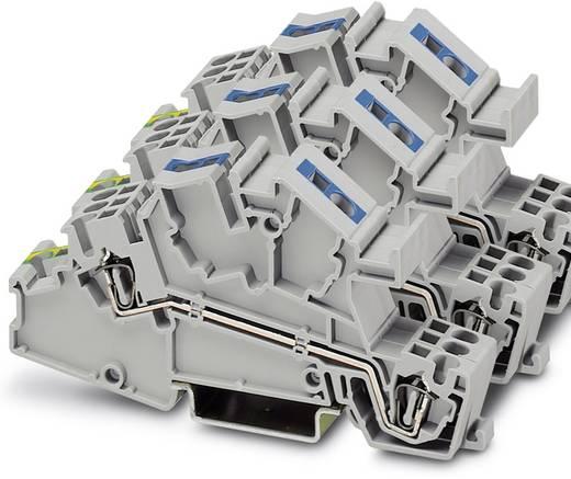 Installatie-etageklem STI 2,5-1PE/3L/1N Grijs Phoenix Contact 15 stuks