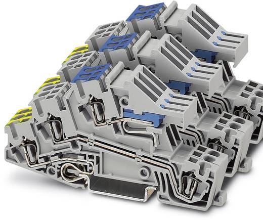 Installatie-etageklem STI 2,5-3PE/3L/3NT Grijs Phoenix Contact 15 stuks