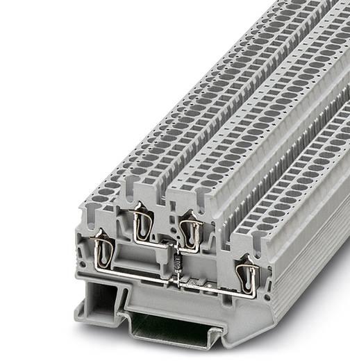 Componentenserieklem STTB 2,5-R499/O-U Grijs Phoenix Conta
