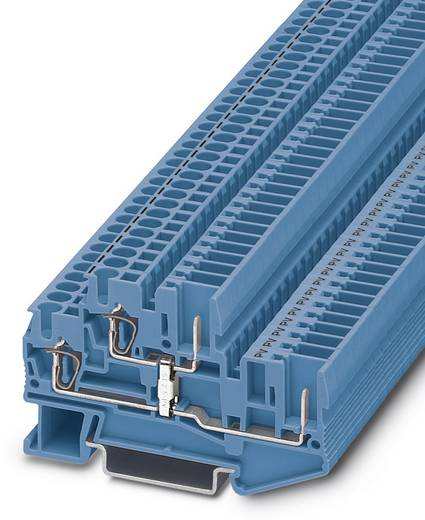 Twee-etageklem STTB 2,5/2P-PV BU Blauw Phoenix Contact