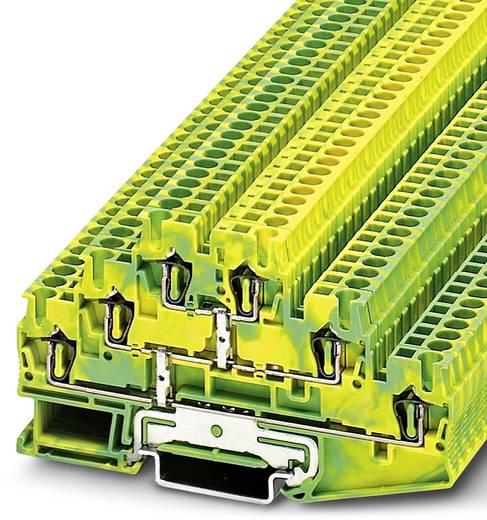Meeretageklem ST 2,5-3PE Groen-geel Phoenix Contact 50 stuks