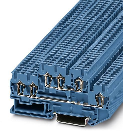 Doorgangsserieklem STTB 2,5-TWIN BU Blauw Phoenix Contact 50 stuks