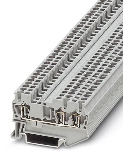 Componentenserieklem ST 2,5-TWIN-R1K 0,6W Grijs Phoenix Co