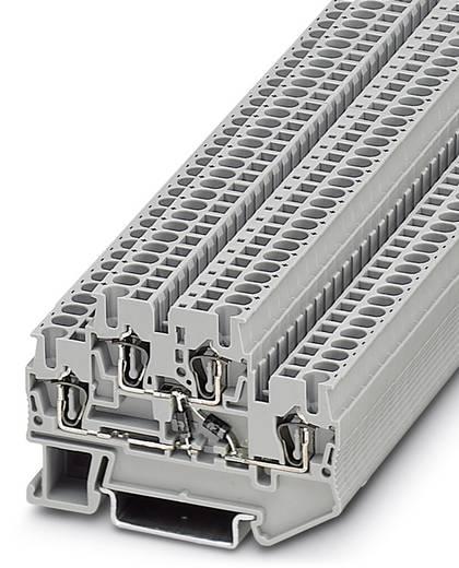 Componentenserieklem STTB 2,5-2DIO/UL-O/UR-O Grijs Phoenix Contact 50 stuks