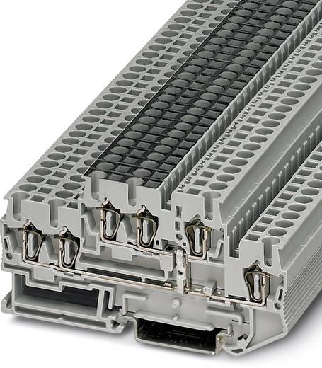 Doorgangsserieklem STTB 2,5-TWIN-PV Grijs Phoenix Contact 50 stuks