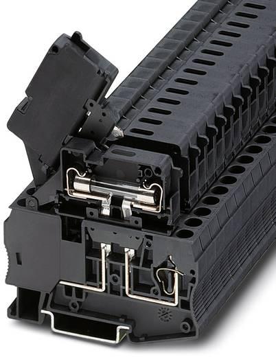 Zekeringsserieklem ST 4-HESILA 250 (6,3x32) Zwart Phoenix Contact 50 stuks